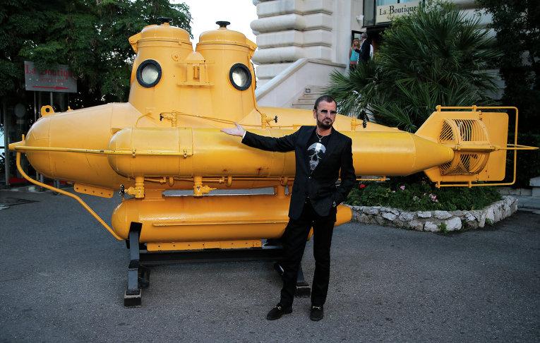 Ринго Старр и легендарная  The Yellow Submarine