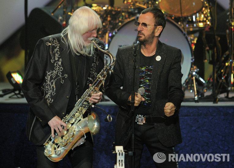 Концерт экс-барабанщика The Beatles Ринго Старра
