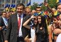 Михаил Саакашвили в Одессе