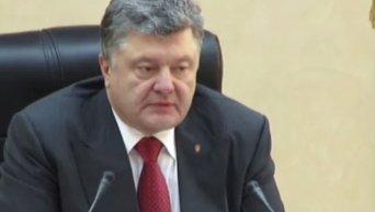 Порошенко о депутатах голосовавших за реструктуризацию кредитов: вы - негодяи, Видео