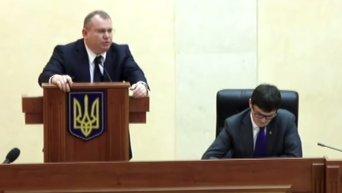 Перепалка Резниченко и Саакашвили на совещании у Порошенко. Видео