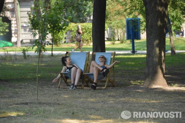 Жара в Киеве