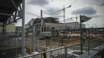 Яценюк в зоне отчуждения Чернобыльской АЭС