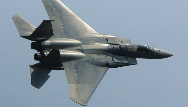 Американский истребитель F-15. Архивное фото