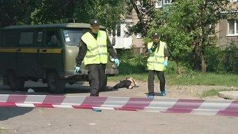 Нападение на почтовый автомобиль в Харькове