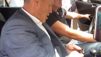 Погоня активистов за мэром Полтавы. Видео