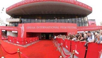 Открытие в Одессе международного кинофестиваля
