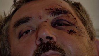 Милиционеры о перестрелке с Правым сектором в Мукачево. Видео