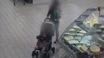Кража в киевском супермаркете