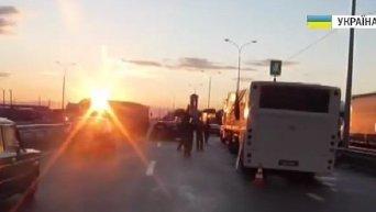 На месте аварии автобуса в Полтавской области 12 июля, 2015 г.