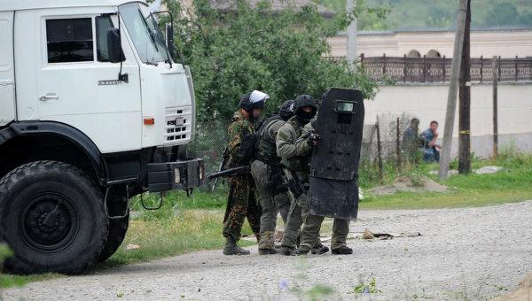 Спецоперация российских силовиков в Кабардино-Балкарии. Архивное фото
