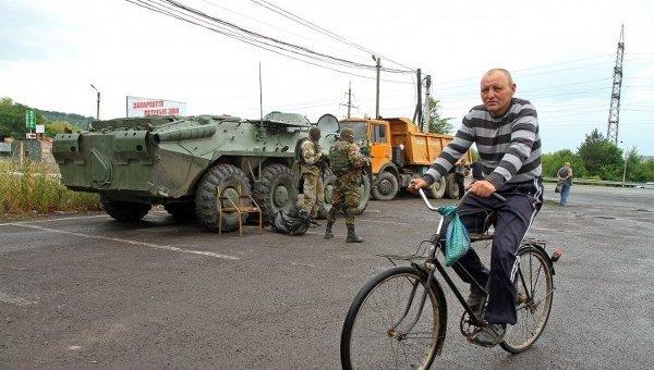 Военная техника на Закарпатье
