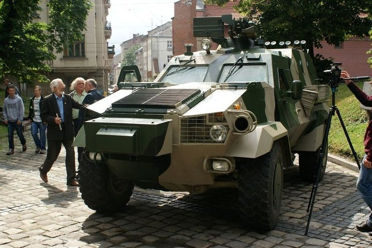 Бронеавтомобиль Дозор-Б, произведенный ГП Львовский бронетанковый завод