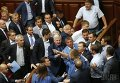 Драка в Верховной Раде 14 июля 2015 года