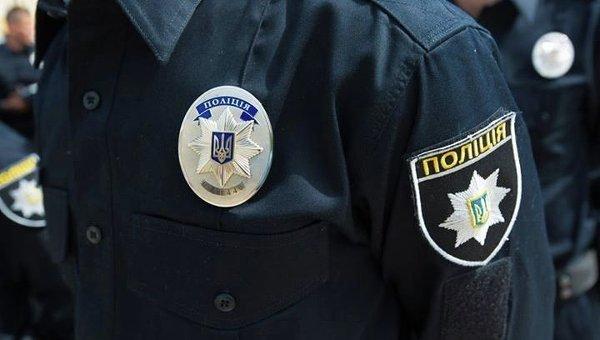 Патрульные полицейские в Киеве