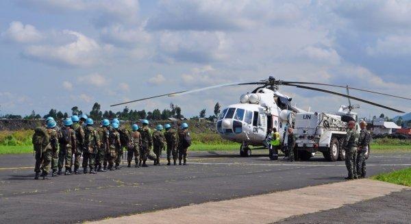 Украинские вертолетчики в ДР Конго