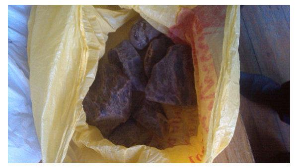 В Ровенской области МВД изъяла 4 кг янтаря и орудия для его добычи