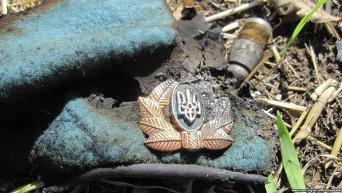 На месте гибели украинских силовиков. Архивное фото