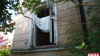 На месте взрыва в Ивано-Франковске