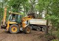 Уничтожение деревьев под Харьковом