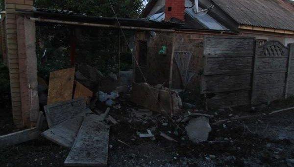 Обстрел Куйбышевского района Донецка