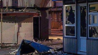Обстрел центра Донецка в субботу. Архивное фото