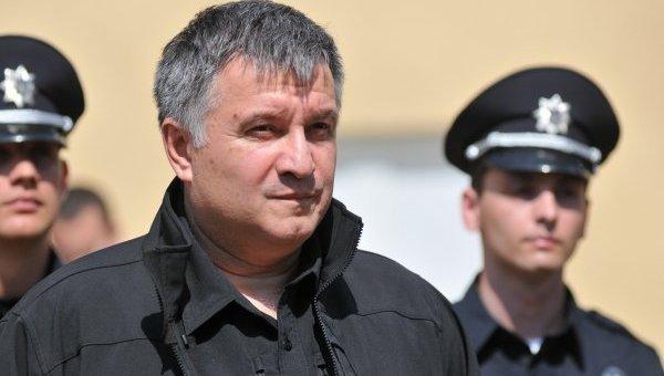 Арсен Аваков осмотрел новых патрульных Львова