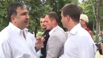 Конфликт Филатова с Саакашвили и Березенко