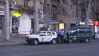 Взрыв в Одесском баре