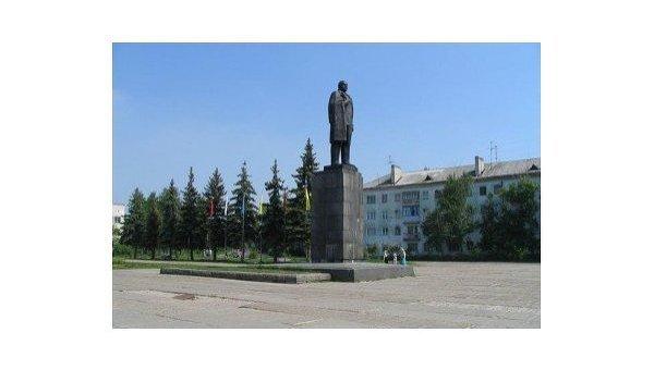 Памятник Ленину в Дзержинске. Архивное фото.