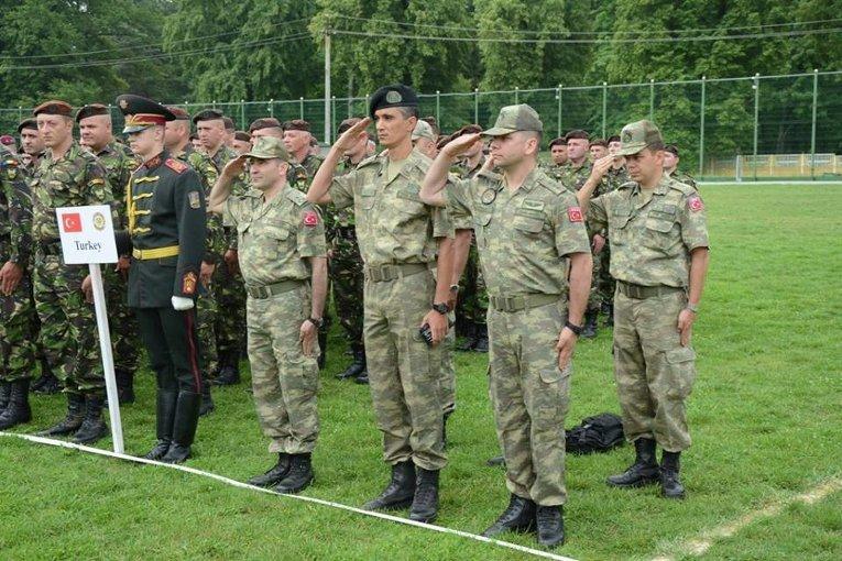 Военные учения Saber Guardian / Rapid Trident 2015