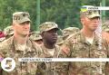 Масштабные военные учения с участием США на Яворовском полигоне. Видео