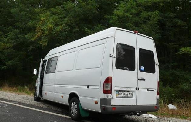ДТП в Венгрии, в котором пострадали 7 украинцев