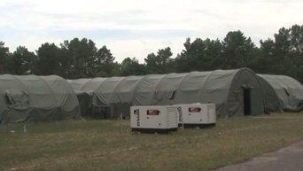 Канадцы подарили Украине мобильный госпиталь. Видео