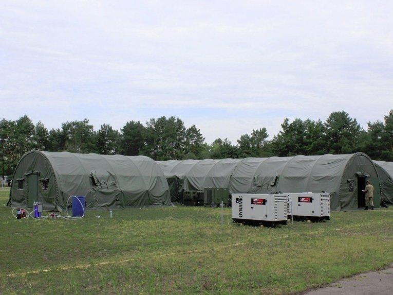 США передали полевой госпиталь для украинских военных, - Генштаб - Цензор.НЕТ 2536