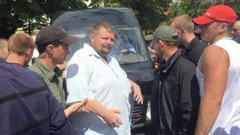 Драка с участием депутатов в Чернигове
