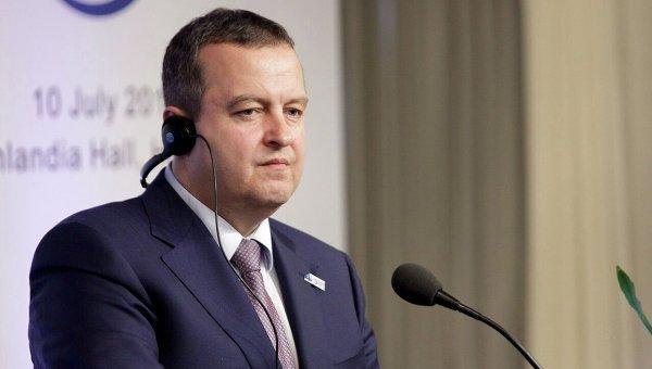 Глава ОБСЕ Ивица Дачич. Архивное фото