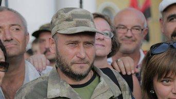 Вече Правого сектора на Майдане Незалежности