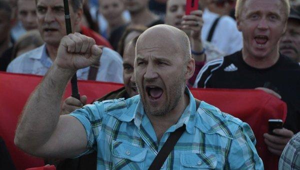 Правый сектор озвучил свои требования на Майдане Незалежности