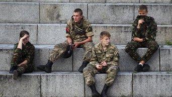 Вече Правого сектора на Майдане в Киеве