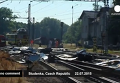 Спасатели на месте столкновения поезда с грузовиком в Чехии. Видео