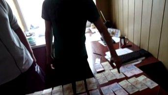 Задержание взяточника в Донбассе. Видео