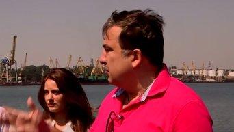 Михаил Саакашвили о коррупции в Ильичевском порту