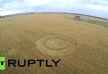 Загадочные круги на полях в Тольятти. Видео