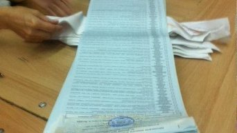 Длина избирательного бюллетеня на довыборах в Чернигове
