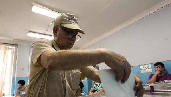 Голосование в Чернигове