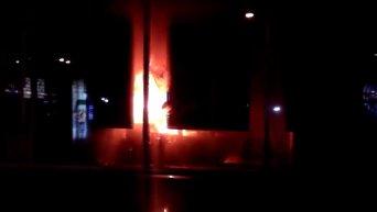 Нападение на отделение Сбербанка России во Львове