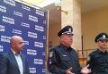Москаль в форме патрульного презентовал новую полицию. Видео