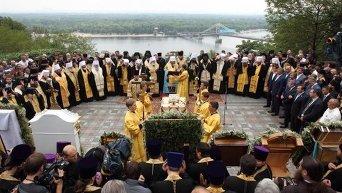 Молебен в память о князе Владимире