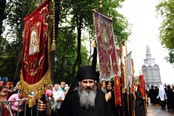 Крестный ход в память о князе Владимире